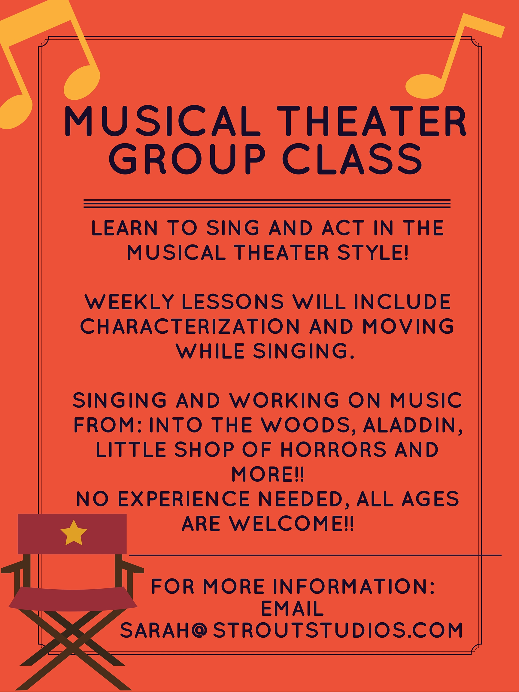 MUSICAL THEATER GROUP CLASS 0I